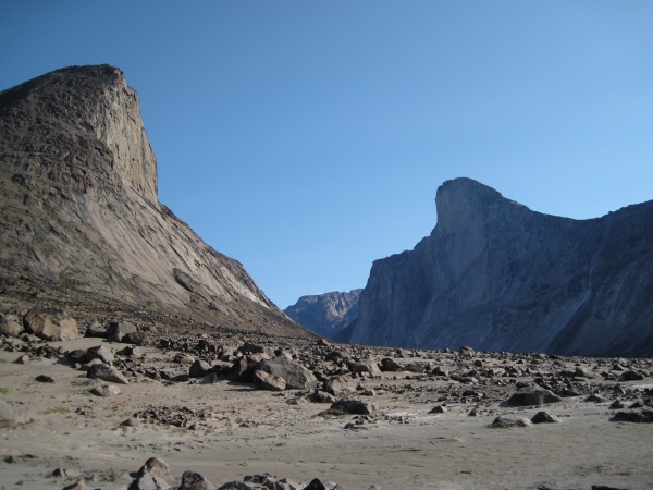 Rough Terrain (photo from 2009 expedition)
