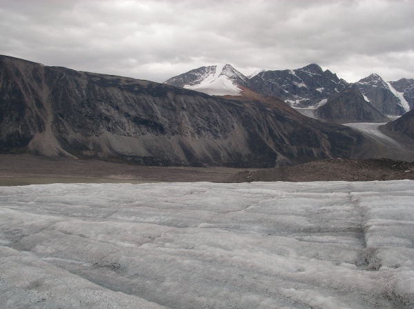 Mount Battle in the distance (photo from 2009 expedition)