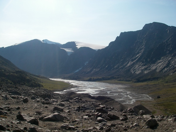 Melt Water Rivers (photo from 2009 expedition)